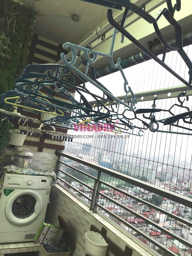 Sửa giàn phơi tại chung cư Nam Đô Complex, 609 Trương Định nhà chị Thi - 08