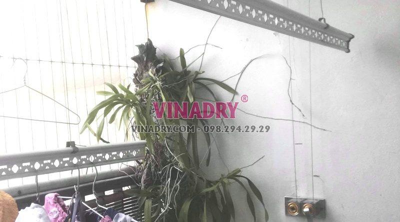 Thay củ quay giàn phơi nhà anh Trí, tòa V1, Victoria Văn Phú Hà Đông - 01