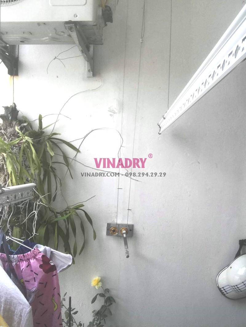 Thay củ quay giàn phơi nhà anh Trí, tòa V1, Victoria Văn Phú Hà Đông - 02