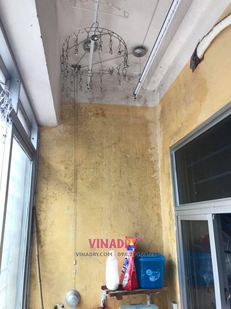 Sửa giàn phơi cho nhà chị Mai tại căn 202, chung cư N2E, Trung Hòa, Nhân Chính - 3
