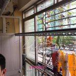Sửa giàn phơi cho nhà chị Mai tại căn 202, chung cư N2E, Trung Hòa, Nhân Chính