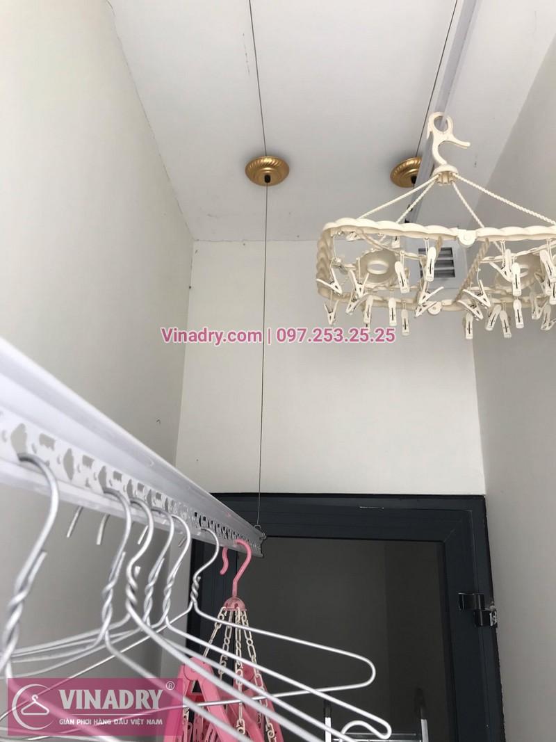 Sửa giàn phơi thông minh tại nhà bác Hải, chung cư 203, Nguyễn Huy Tưởng, Thanh Xuân