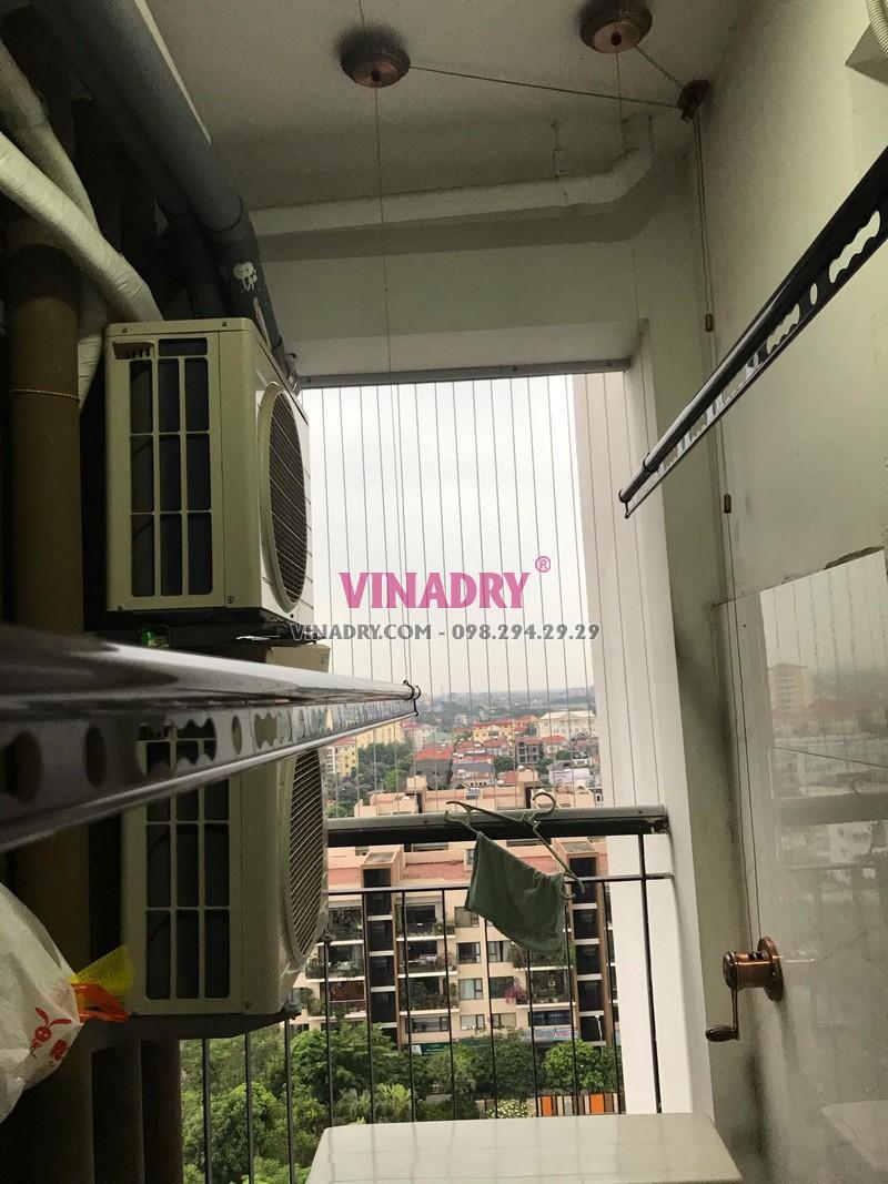 Sửa giàn phơi thông minh tại T2, chung cư Green Park, Việt Hưng, Long Biên, Hà Nội