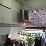 Sửa giàn phơi thông minh tại Hà Nội: thay dây cáp tại nhà chị Lan, tòa CT3A, chung cư 885 Tam Trinh, Hoàng Mai