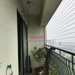 Thay dây cáp giàn phơi thông minh tại chung cư 885, Tam Trinh, Hoàng Mai, nhà chị Ngọc