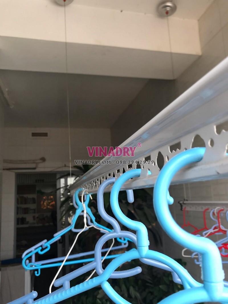 Thay dây cáp giàn phơi tại Trường Chinh, Hà Nôị nhà cô Ánh, ngõ 102