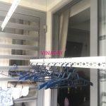 Sửa giàn phơi Times City: Thay dây cáp tại nhà chị Quỳnh, Tòa Park9