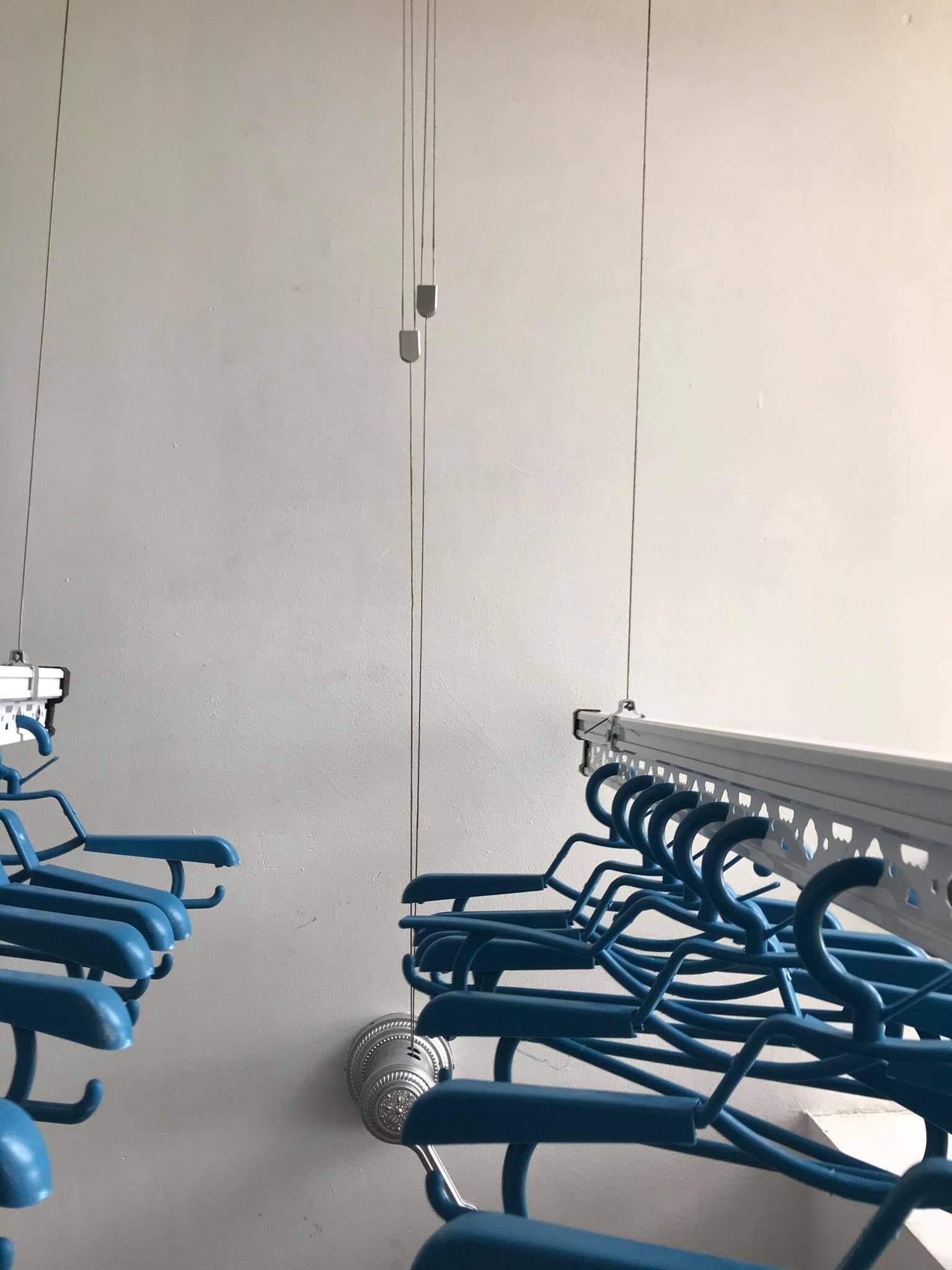 Lắp giàn phơi thông minh tại KĐT Sài Đồng, Long Biên nhà chị Lệ - 03