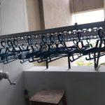 Lắp giàn phơi thông minh tại KĐT Sài Đồng, Long Biên nhà chị Lệ, tòa 12-3