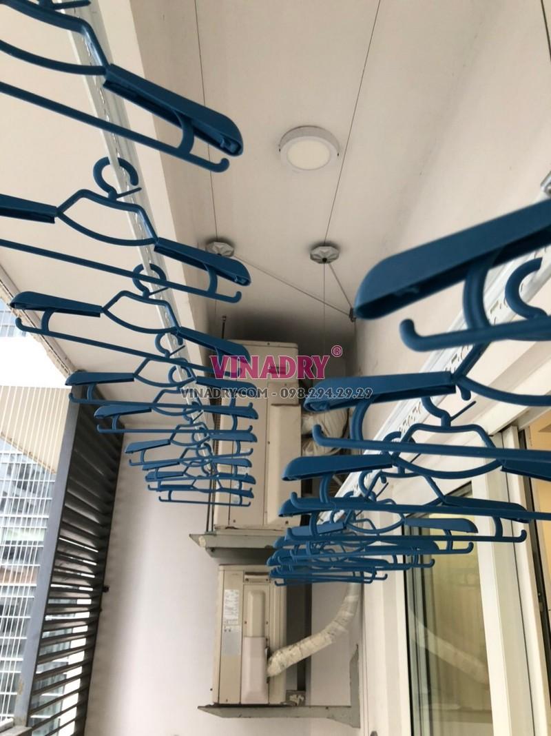 Lắp lưới an ban công tại Thanh Xuân nhà anh Hùng - 01
