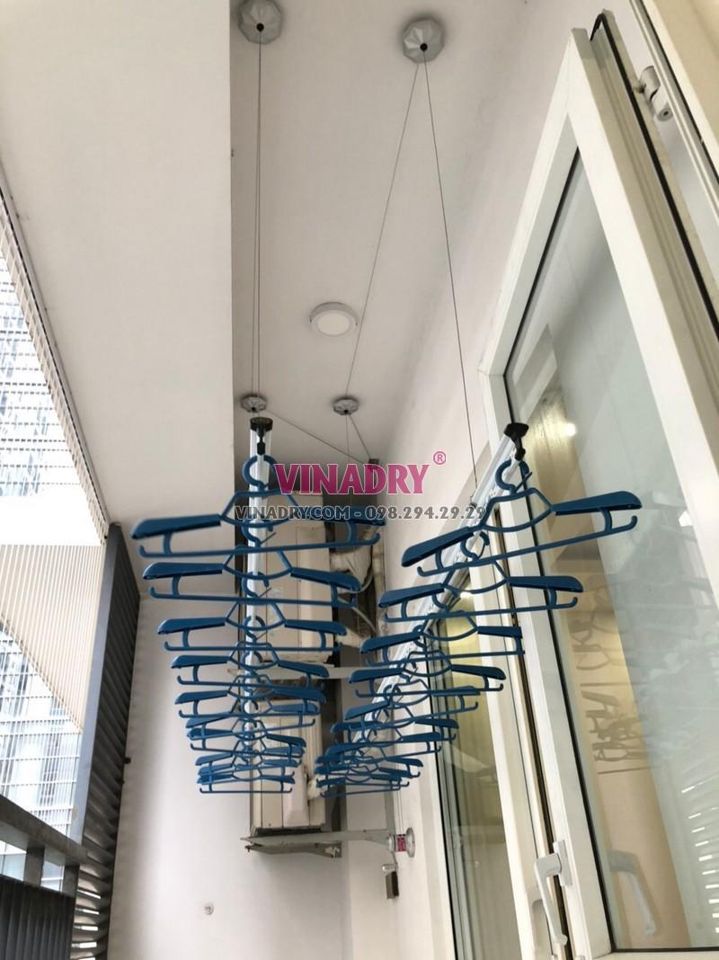 Lắp lưới an ban công tại Thanh Xuân nhà anh Hùng - 03
