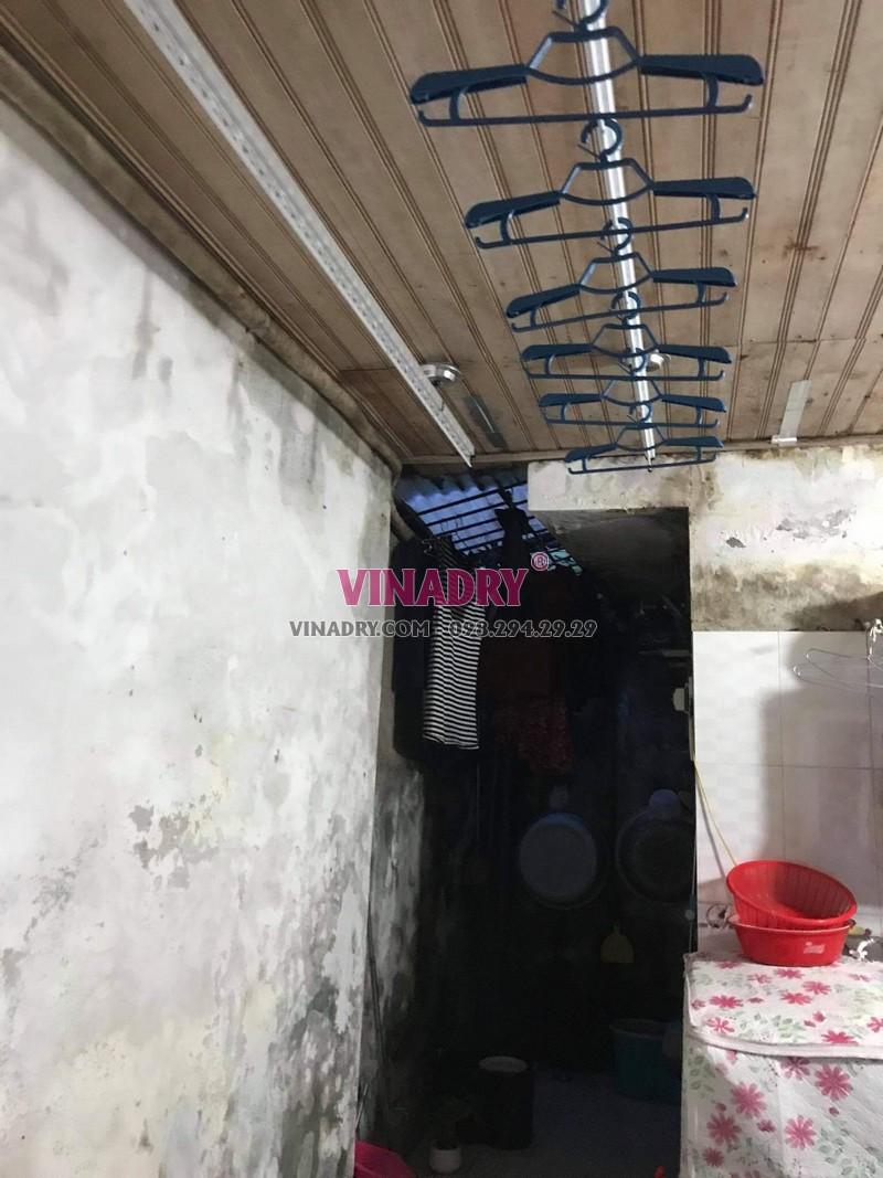 Hình ảnh lắp giàn phơi thông minh Hoàng Mai nhà chị Vy, KTT B14 - 05