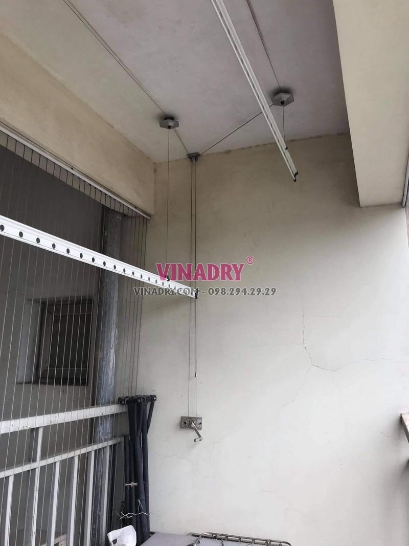 Sửa giàn phơi thông minh Cầu Giấy nhà anh Mạnh, chung cư 72 Trần Đăng Ninh - 04