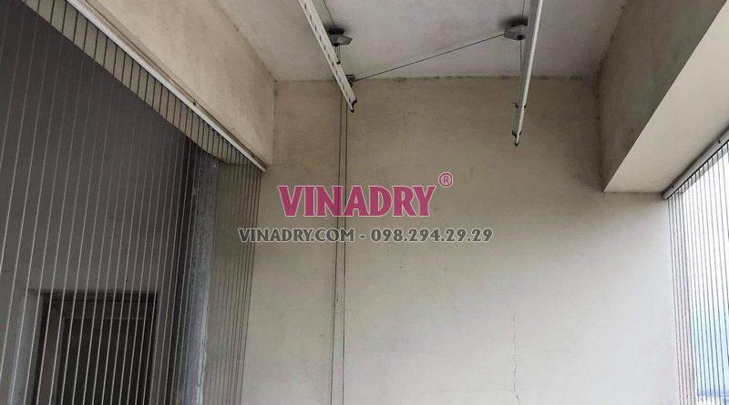 Sửa giàn phơi thông minh Cầu Giấy nhà anh Mạnh, chung cư 72 Trần Đăng Ninh - 05