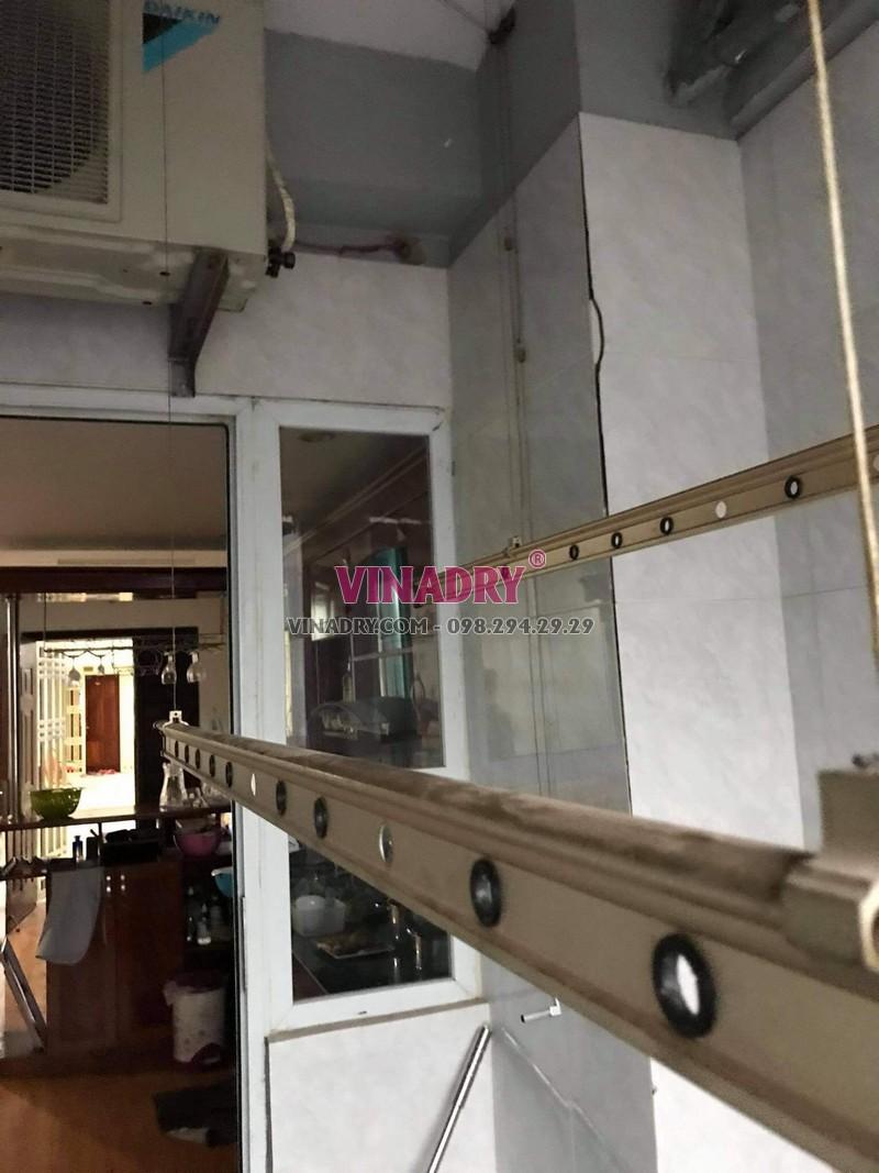 Sửa giàn phơi thông minh Hoàng Mai nhà chị Nhàn, chung cư VP3 bán đảo Linh Đàm - 02