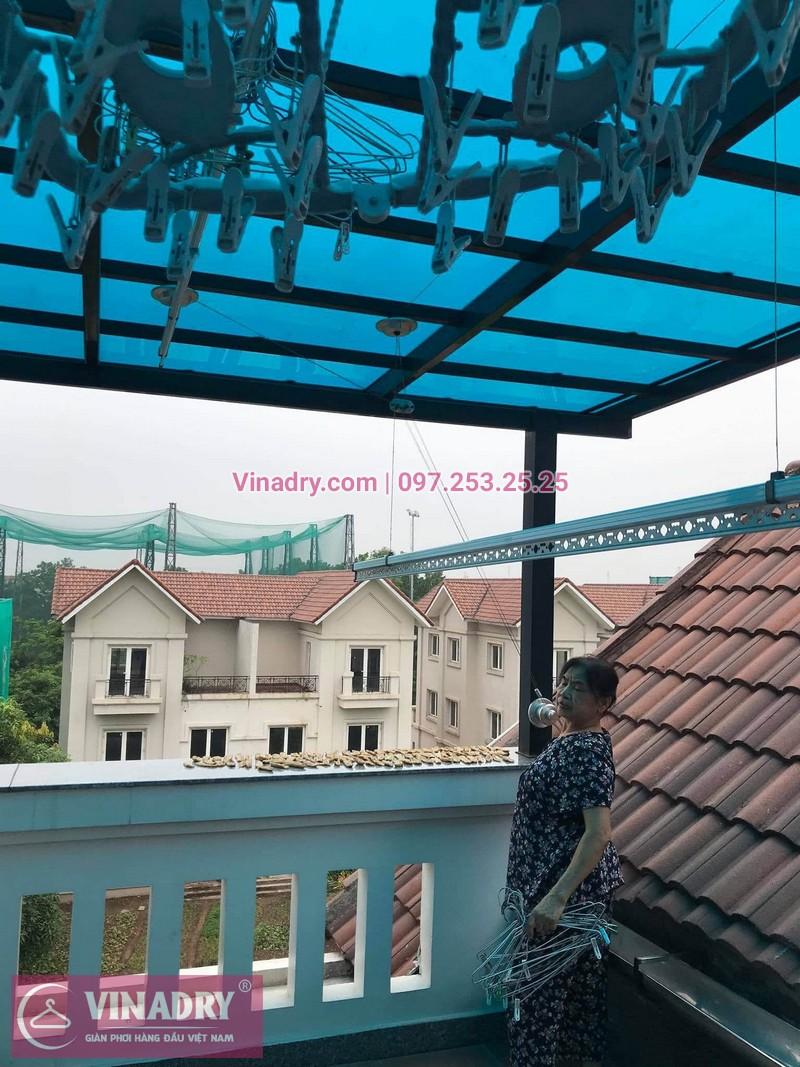 Sửa giàn phơi thông minh giá rẻ tại Vinhome Riverside, Long Biên, Hà Nội