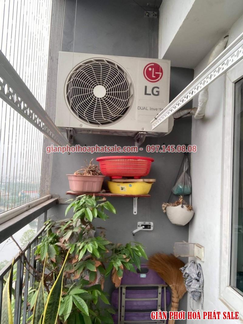 Mẫu giàn phơi giá rẻ tại Vinhomes smart city - Hòa Phát q6