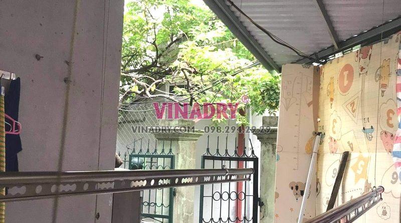 Lắp giàn phơi tại Nam từ Liêm bộ giàn phơi cao cấp GP941 nhà chị Hương - 01