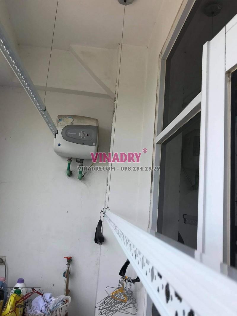 Lắp giàn phơi giá rẻ ks950 tại Hoài Đức, Hà Nội nhà chị Nhung - 01
