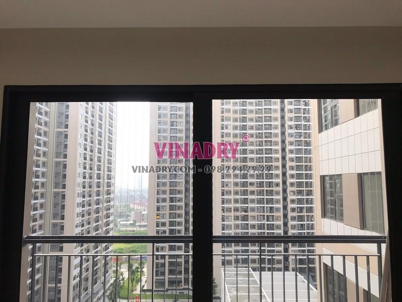 Lưới an toàn ban công lắp tại Vinhomes smart city nhà anh Cảnh