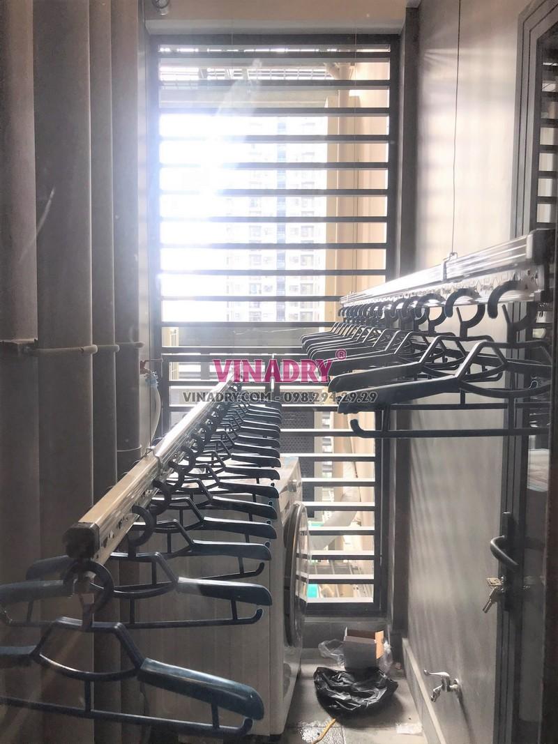 Lắp giàn phơi Vinhomes Smart City nhà anh Cảnh, tòa S2.12 - 02