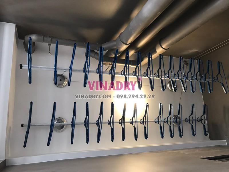 Lắp giàn phơi Vinhomes Smart City nhà anh Cảnh, tòa S2.12 - 03