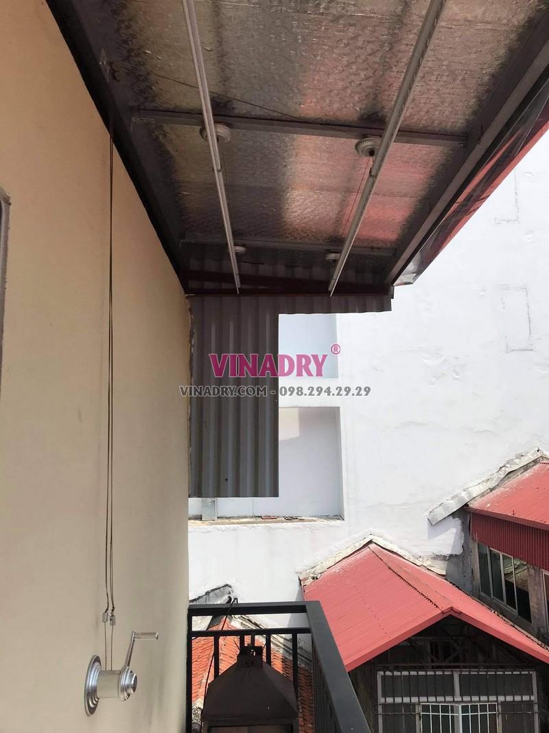 Thay dây cáp giàn phơi thông minh tại Hoàn Kiếm, số 17 Lý Thái tổ nhà chị Oanh - 03