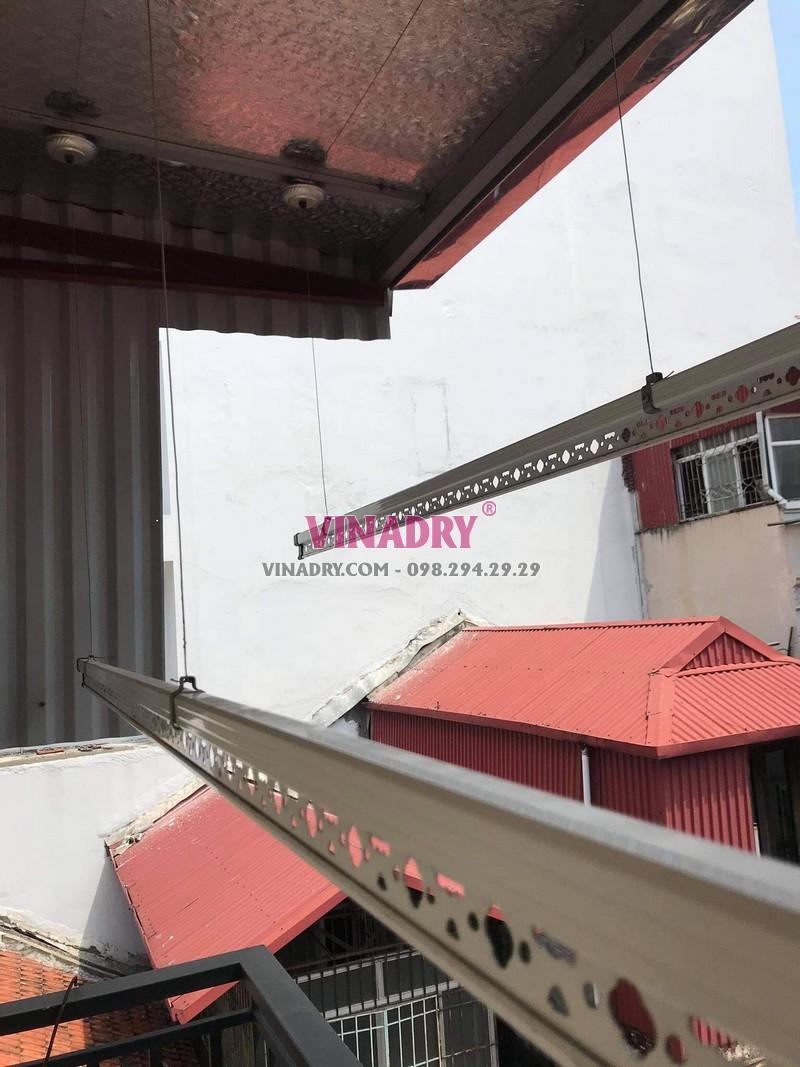 Thay dây cáp giàn phơi thông minh tại Hoàn Kiếm, số 17 Lý Thái tổ nhà chị Oanh - 06