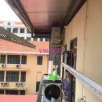 Thay dây cáp giàn phơi thông minh tại Hoàn Kiếm, số 17 Lý Thái tổ
