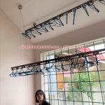 Lắp giàn phơi thông minh tại Vĩnh Yên, Vĩnh Phúc nhà chị Thêu, phố ấp Hạ Khai