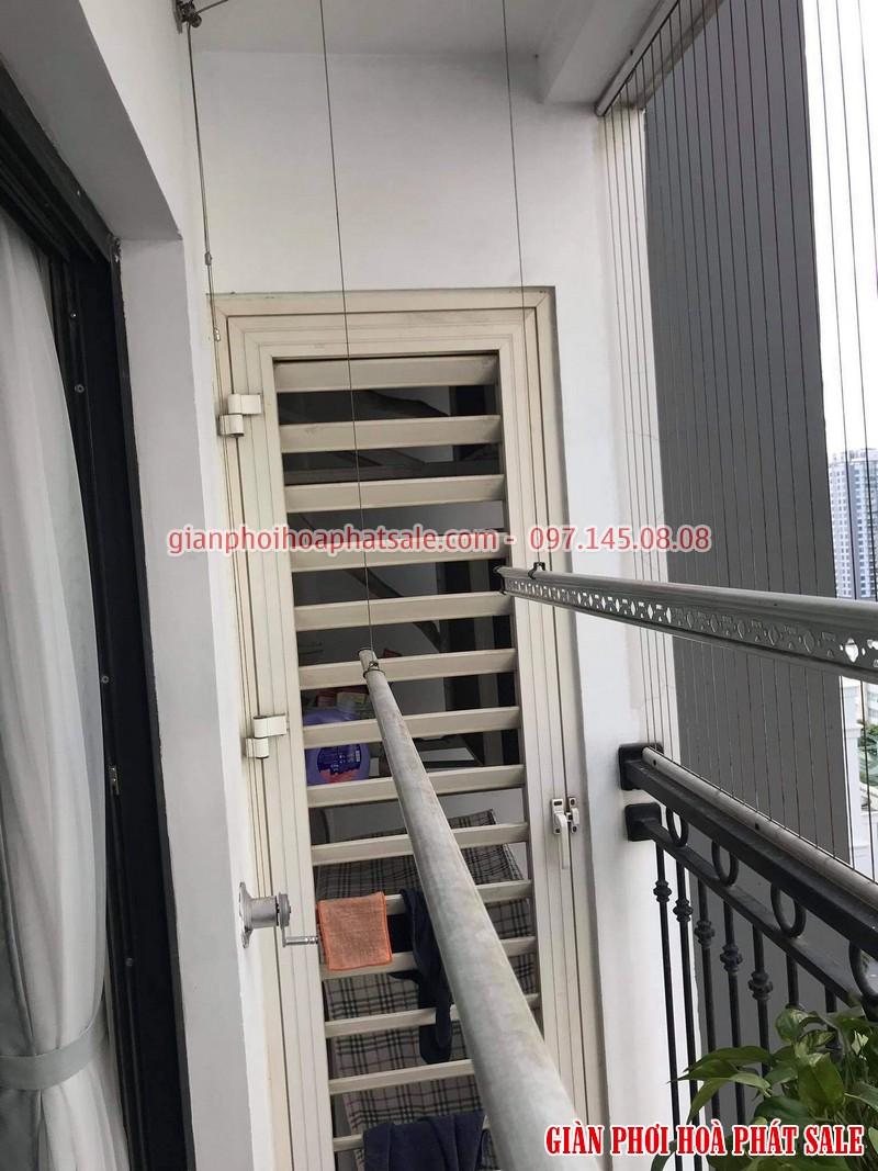 Sửa giàn phơi tại Vinhomes smart city nhà chị Huệ tòa S2.05 - 02