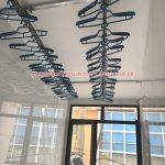 Lắp giàn phơi tại Quốc Oai nhà anh Bình, xã Yên Sơn mẫu HP300