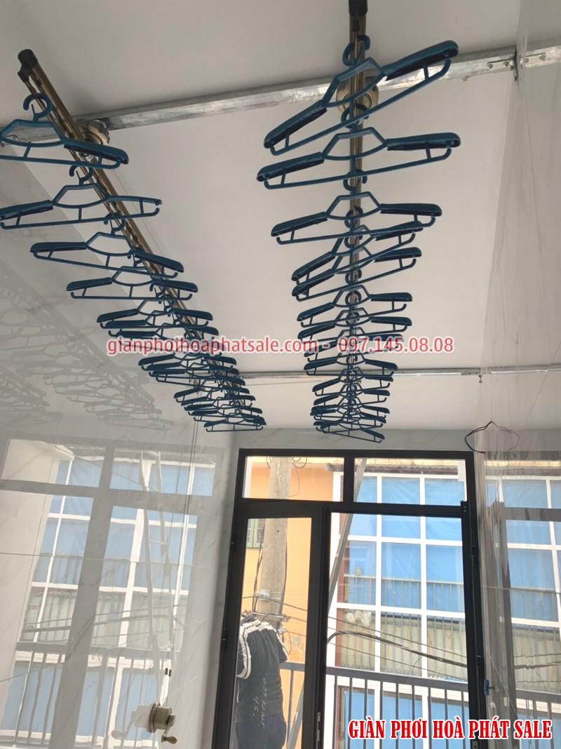Lắp giàn phơi Quốc Oai: ảnh thực tế tại nhà anh Bình, xã Yên Sơn - 03