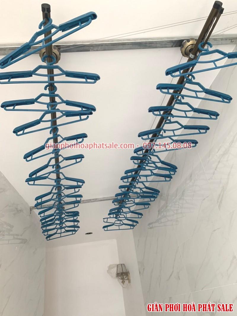 Lắp giàn phơi Quốc Oai: ảnh thực tế tại nhà anh Bình, xã Yên Sơn - 07