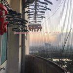 Sửa giàn phơi tại Thanh Trì nhà chị Hồng, chung cư 79 Thanh Đàm