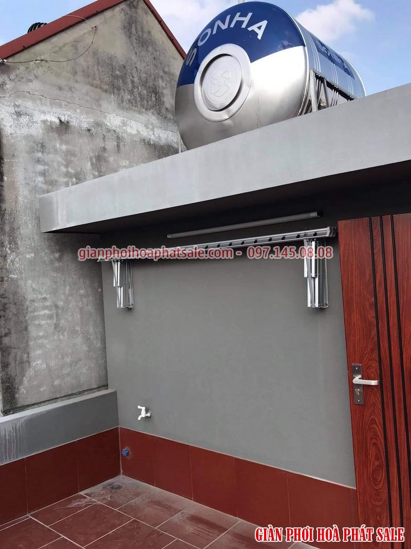 giàn phơi quần áo thông minh ngoài trời khi không sử dụng có thể gập gọn vào tường