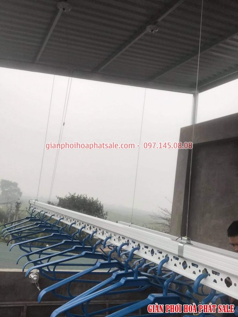Lắp giàn phơi quần áo Long Biên, bộ HP701 tại Cự Khối nhà anh Khánh - 05