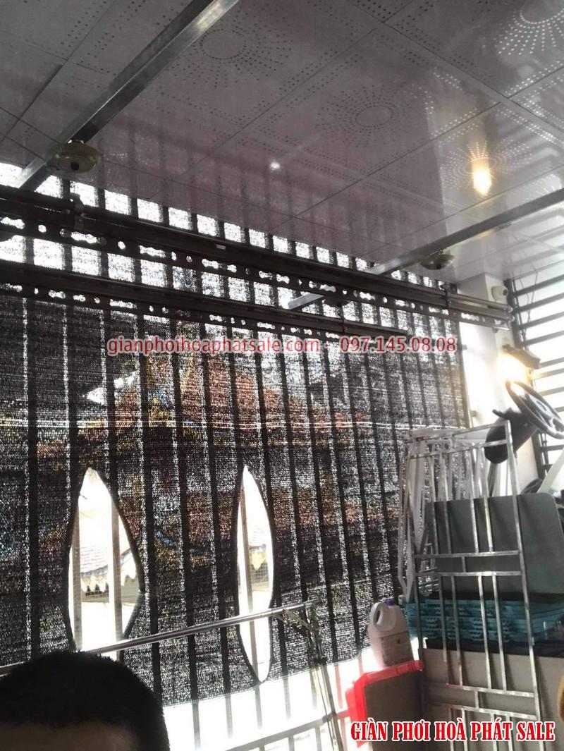 Lắp giàn phơi thông minh Hòa Phát KS980 tại Hai Bà Trưng nhà chị Thảo - 01