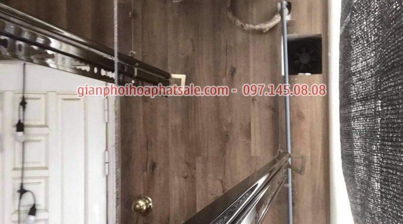 Lắp giàn phơi thông minh Hòa Phát KS980 tại Hai Bà Trưng nhà chị Thảo - 04
