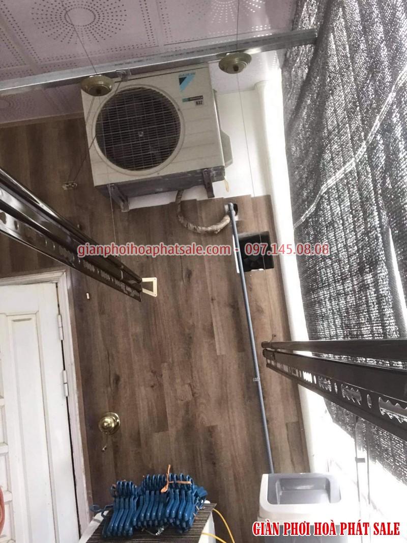 Lắp giàn phơi thông minh Hòa Phát KS980 tại Hai Bà Trưng nhà chị Thảo - 05
