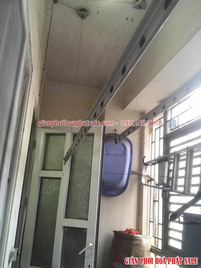 Sửa giàn phơi thông minh tại Cầu giấy nhà anh Tùng, KĐT Trung Hòa Nhân Chính - 04