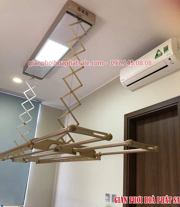 giảm giá 50% giàn phơi thông minh điều khiển từ xa tại Hà Nội