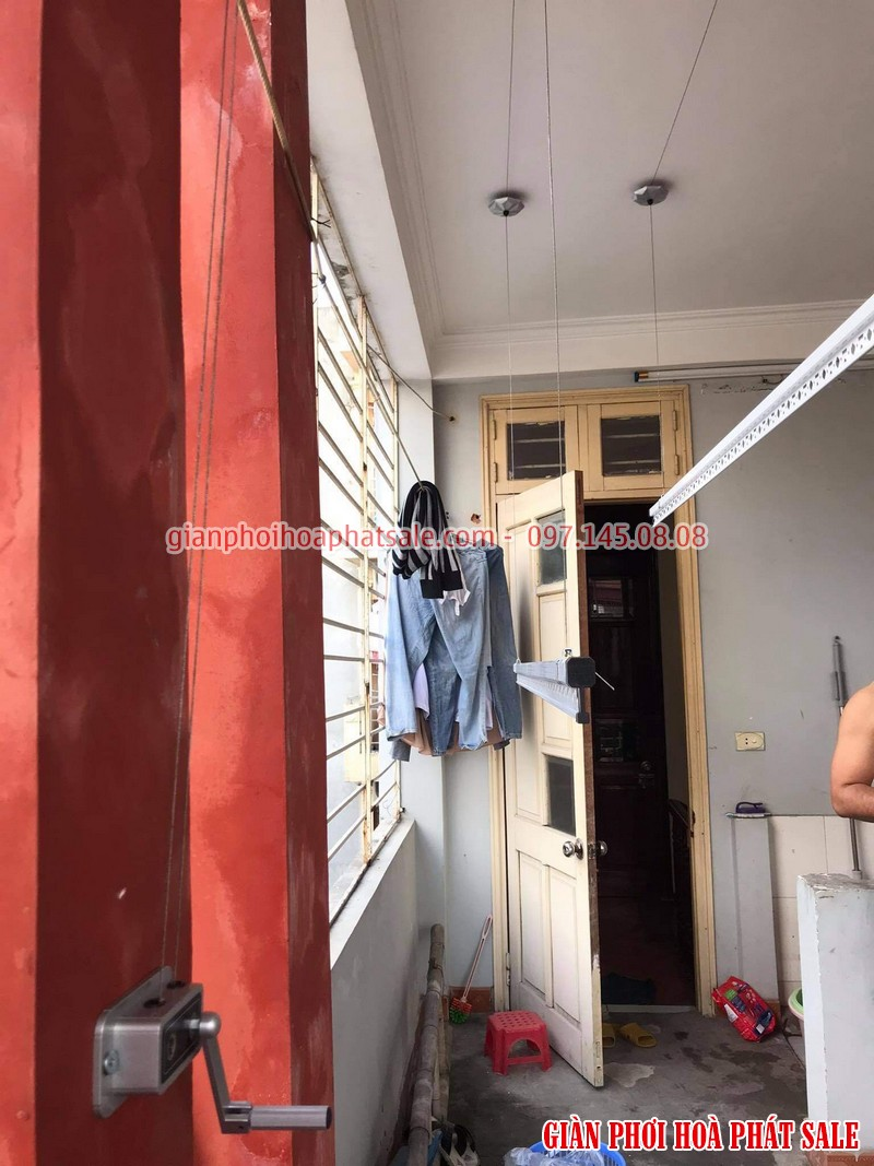 Diện mạo giàn phơi quần áo Hòa Phát 590k