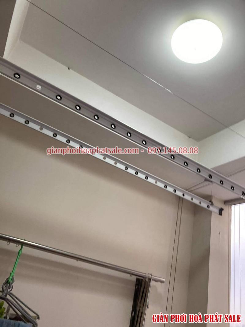 Sửa giàn phơi thông minh Ba Đình: thay dây cáp giá rẻ tại chung cư số 6 Nguyễn Công Hoan - 01