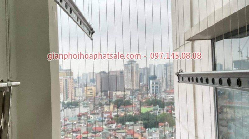 Sửa giàn phơi thông minh Ba Đình: thay dây cáp giá rẻ tại chung cư số 6 Nguyễn Công Hoan - 05