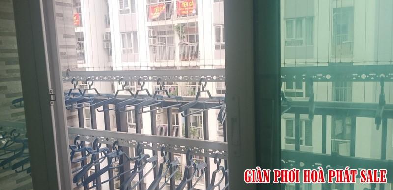 Hình ảnh lưới an toàn ban công lắp tại chung cư 60b Nguyễn Huy Tưởng nhà chú Kiên - 03