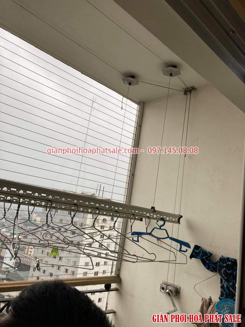 Sửa giàn phơi quần áo tại Cầu Giấy: Thay dây ở chung cư N01 Yên Hòa - 01