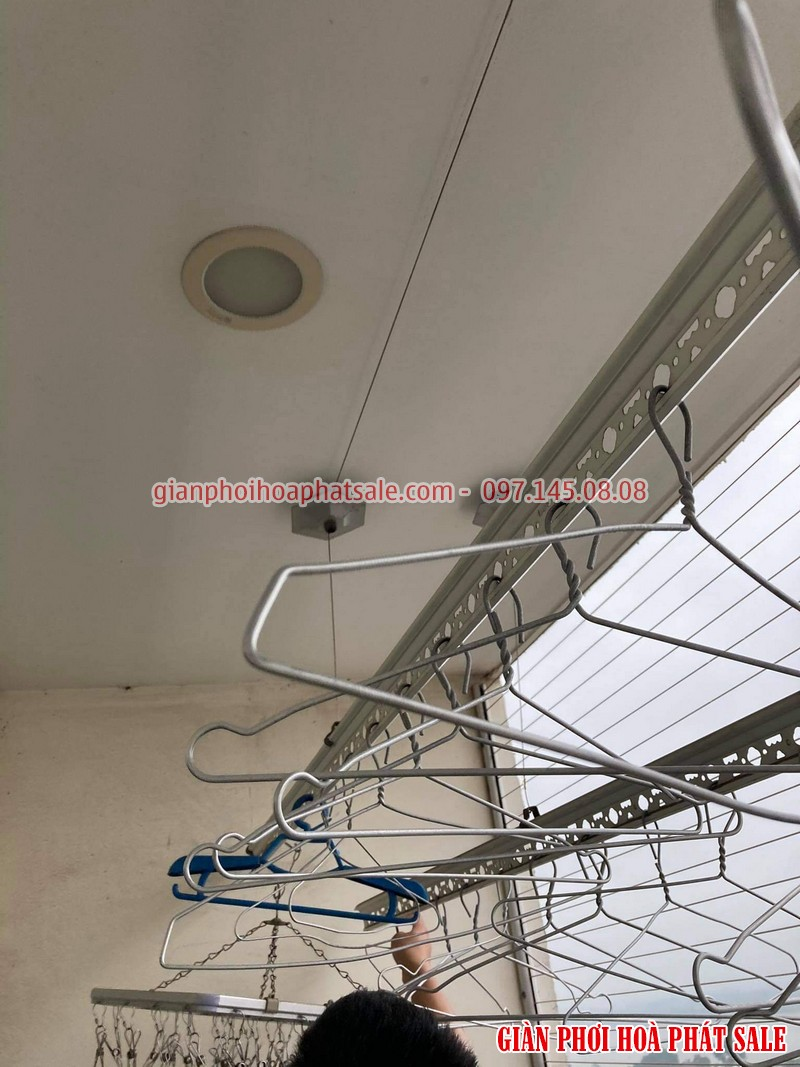 Sửa giàn phơi quần áo tại Cầu Giấy: Thay dây ở chung cư N01 Yên Hòa - 02