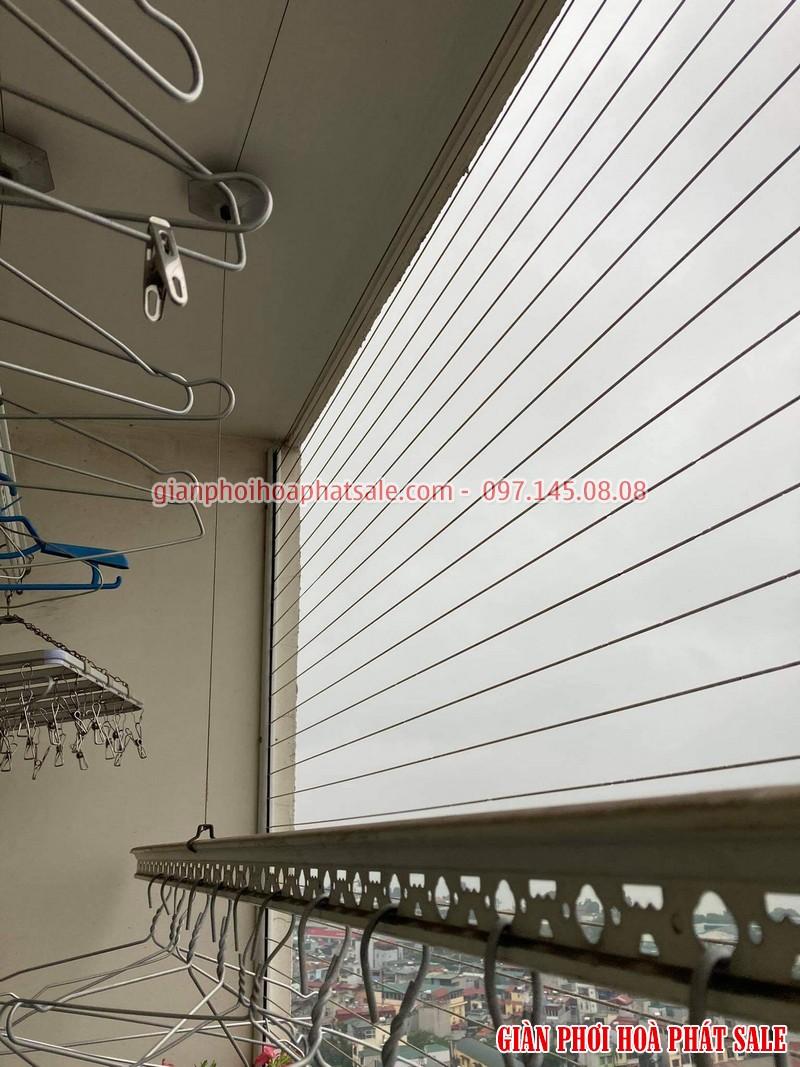 Sửa giàn phơi quần áo tại Cầu Giấy: Thay dây ở chung cư N01 Yên Hòa - 04