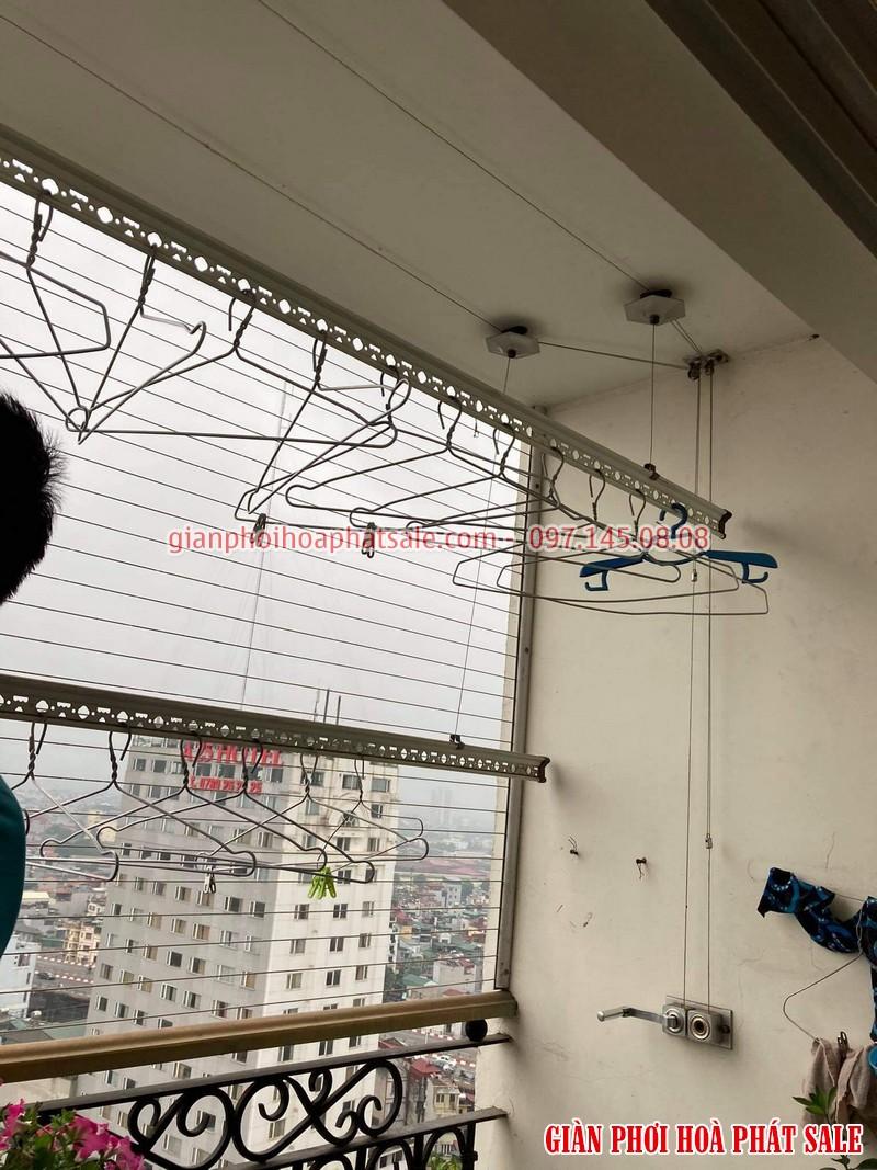 Sửa giàn phơi quần áo tại Cầu Giấy: Thay dây ở chung cư N01 Yên Hòa - 05